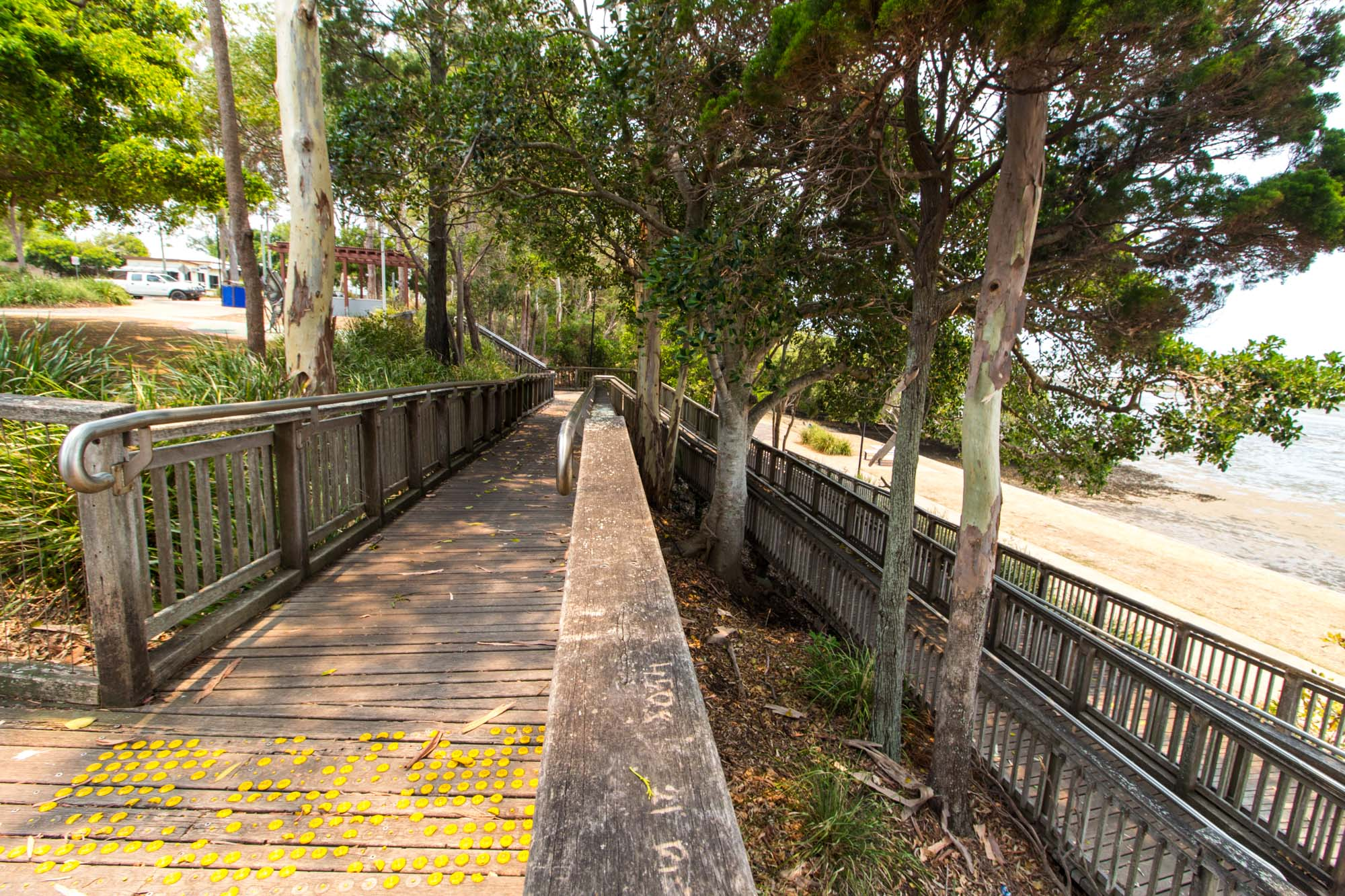 Ramp which will take you to the foreshore